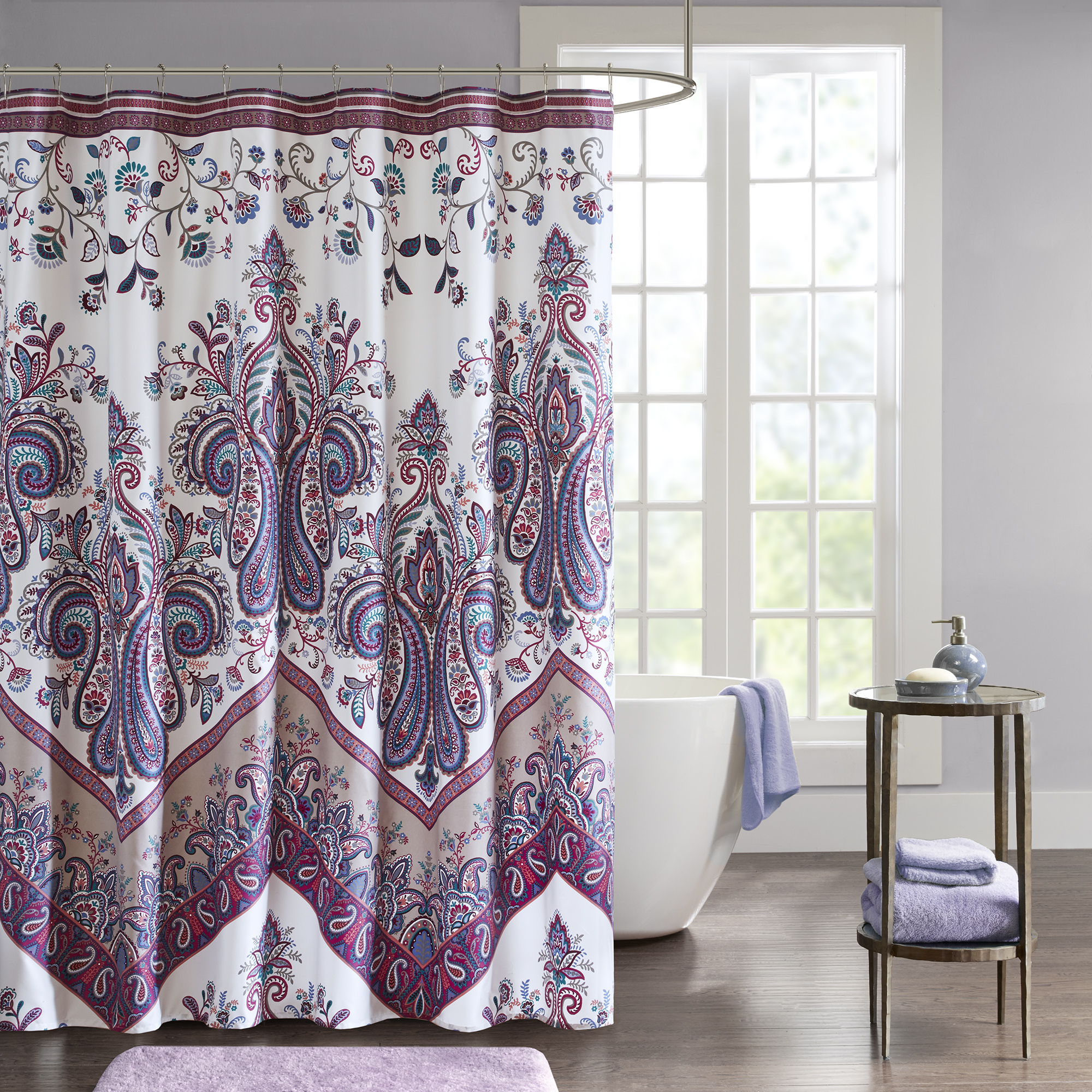 Home Essence Apartment Allura Printed Shower Curtain