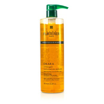 Okara Light Activating Shampoo - For Highlighted  Bleached Hair (Salon Product)