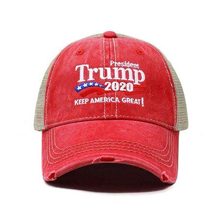 9e3e2149f ChoKoLids Trump 2020 Keep America Great Campaign Embroidered USA Hat    Baseball Bucket Trucker Cap