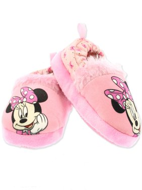 Minnie Mouse Toddler Girl's Plush A-Line Slippers CH5263O