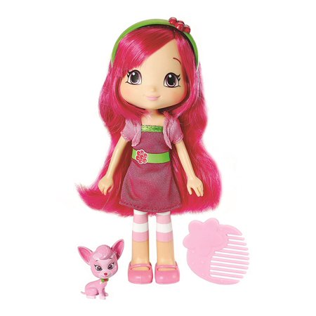 Strawberry Shortcake Berry Best Friend Raspberry Torte With Chiffon Fashion Doll, 6-InchIncludes doll, pet and styling comb By The Bridge