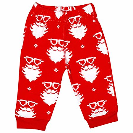 UB Christmas Santa Matching Family Pajama Pants (Baby - Christmas Pajamas Toddlers