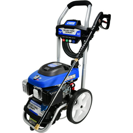 Powerstroke Electric Start 3200PSI Gas Pressure Washer - Walmart com