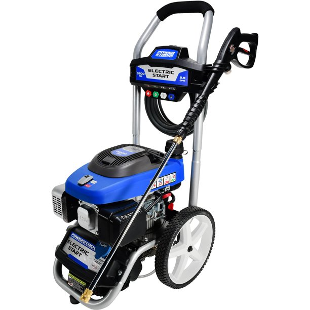 Powerstroke Electric Start 3200psi Gas Pressure Washer Walmart Com Walmart Com