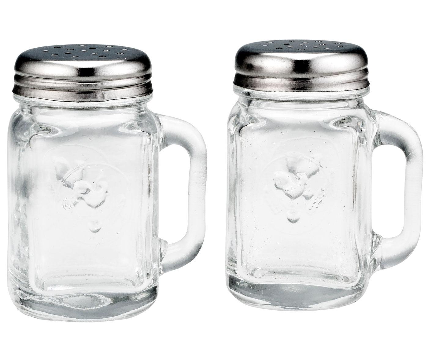 Mason Jar Salt & Pepper Shakers by Walter Drake