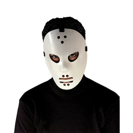 Goalie Hockey Jason Mask for Halloween Costume](Jason Part 7 Mask)