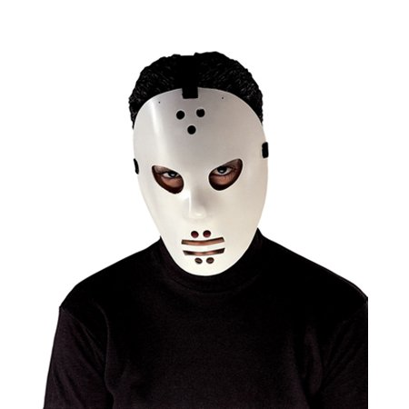Goalie Hockey Jason Mask for Halloween Costume - Halloween Mask Paper Plate