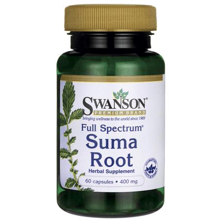 Swanson Full Spectrum Suma Root 400 mg 60 Caps