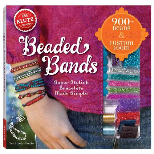 Beaded Bands: Super Stylish Bracelets Made Simple [With Custom Loom and Beads]