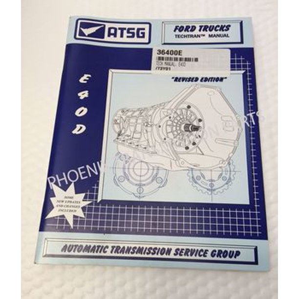 ford e4od transmission parts diagram e4od e40d ford transmission atsg technical service repair manual  e4od e40d ford transmission atsg
