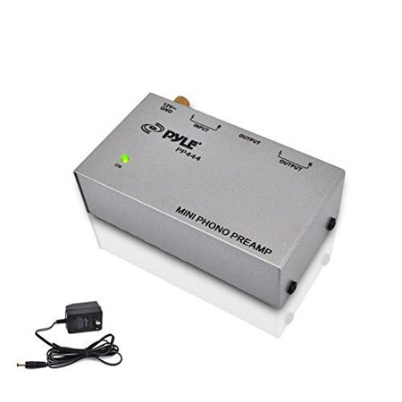 Pyle Pro Pp444 Ultra Compact Phono Turntable Preamp