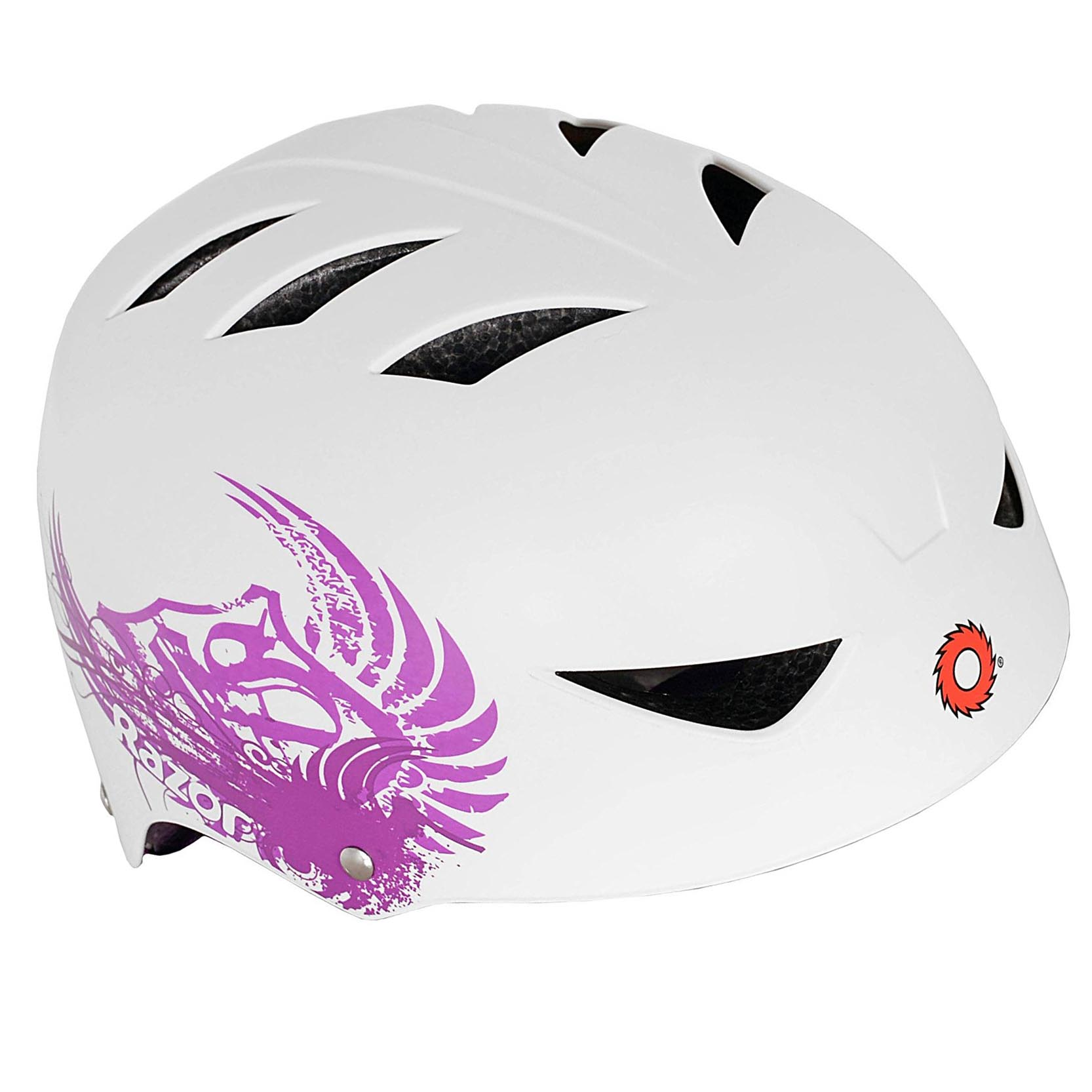 Razor V17 Youth, Multi-Sport Helmet, Neon Yellow, For Ages 8-14