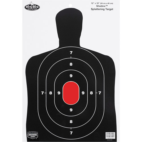 "Birchwood Casey Dirty Bird BC27 Shadow 12"" x 18"" Target, 8-Pack"