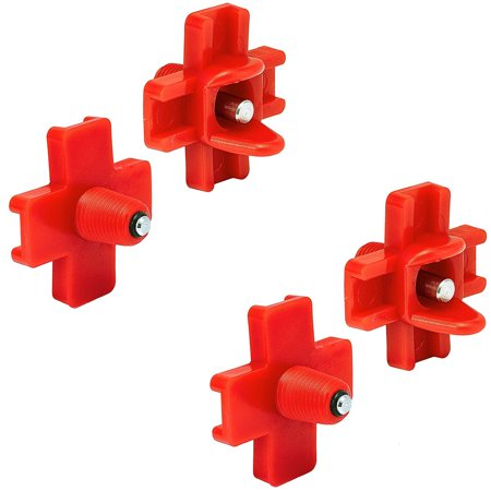 Side Screw ((4) Pack Of New Horizontal Side Mount Chicken Waterer Screw in Poultry Nipple Drinkers )
