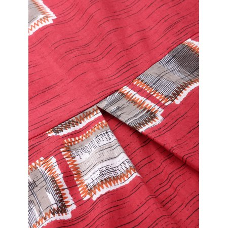 Anouk by Myntra Women Red & Off-White Printed Kurta with Palazzos - image 2 de 6