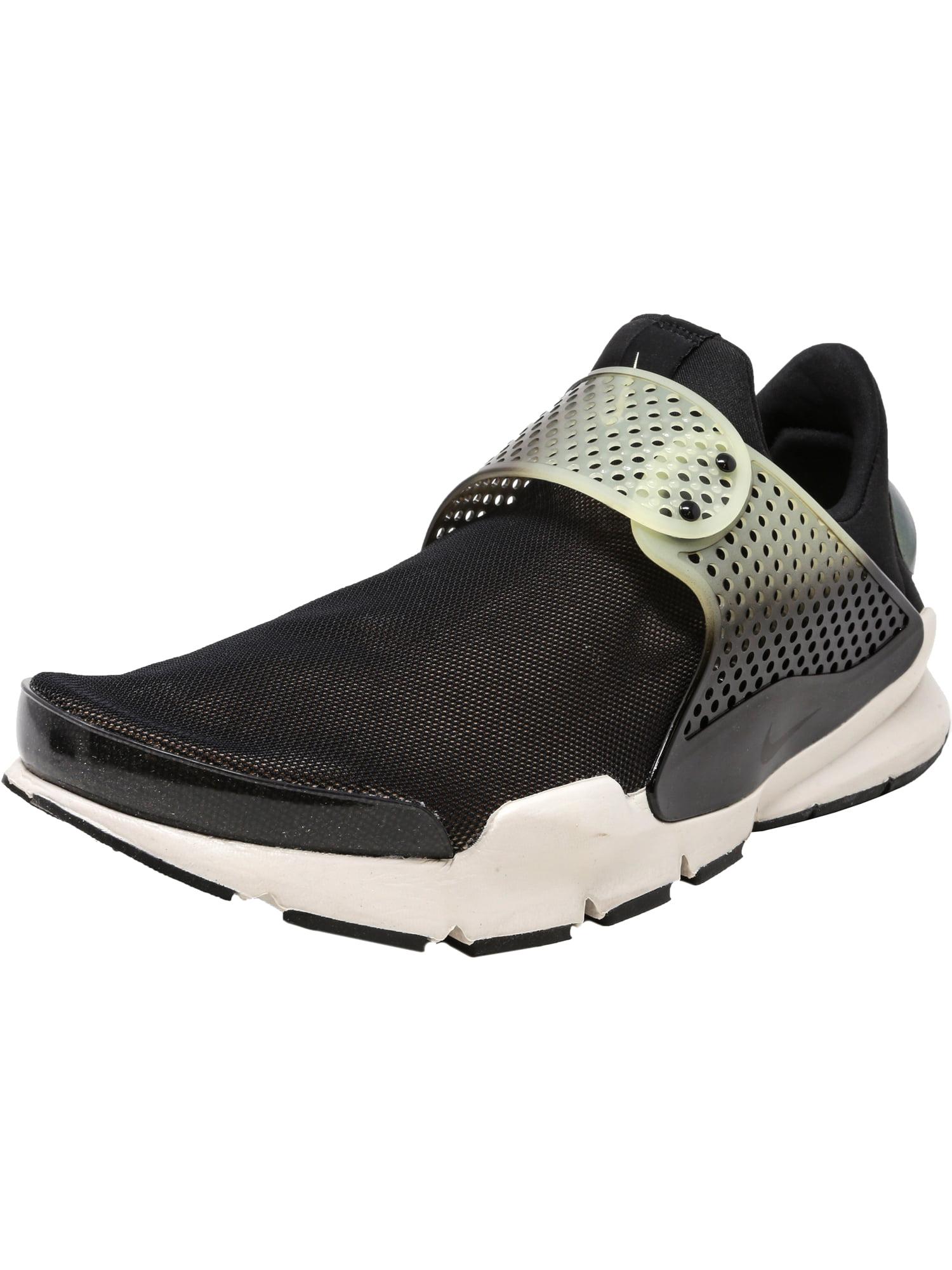 Nike Men's Sock Dart Se Premium Black / Bio Beige-Light Bone Low Top Running Shoe - 11M