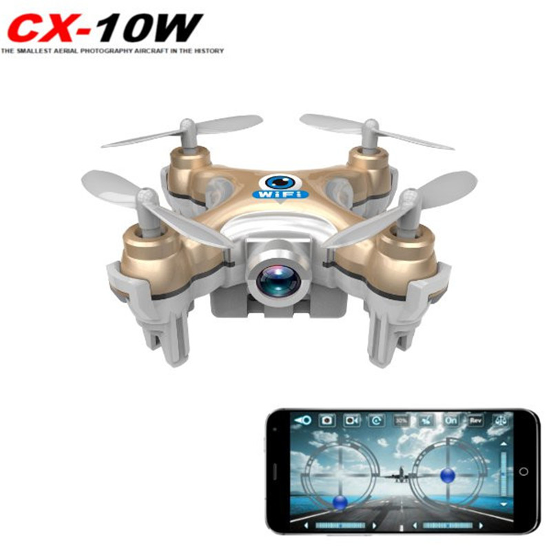Cheerson CX-10W 4CH 2.4GHz 6 Axis Gyro iOS   Android APP Wifi Romote Control RC FPV Real... by