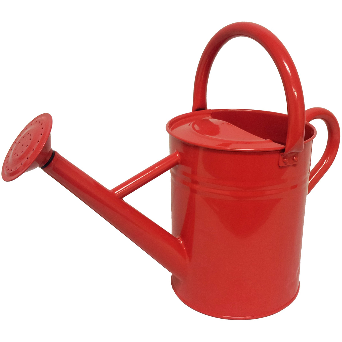 Galvanized Steel Watering Can 1-Gallon-Scarlett by World Source Partners