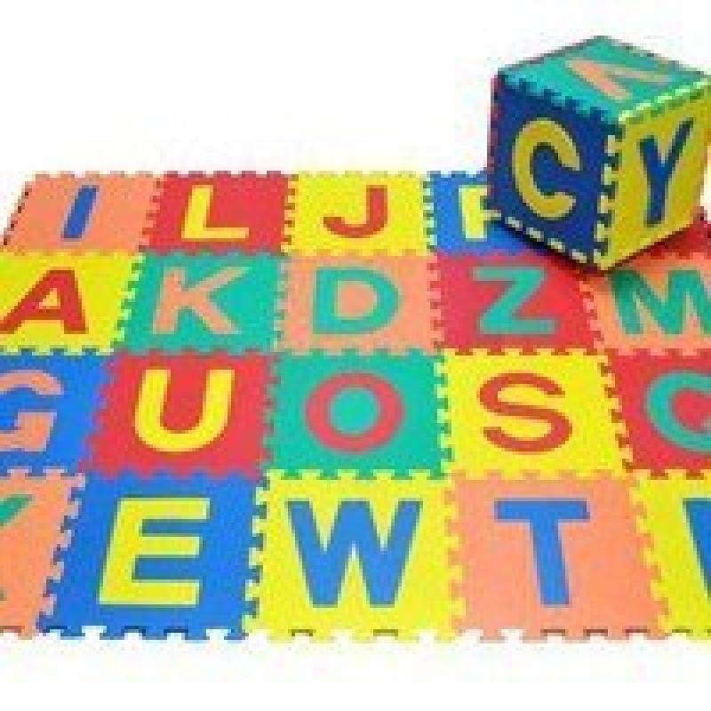 Small World Toys Foam Alphabet Puzzle Mat-Alphabet Puzzle Mat by Small World Toys
