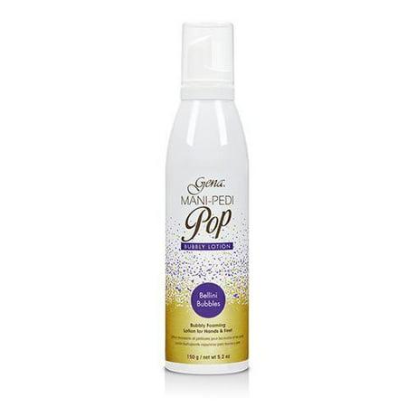 Gena Mani-Pedi Pop Bellini Bubbles Foaming Lotion 5.2 oz