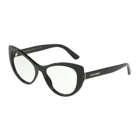 b86acde0fdd4 Eyeglasses Dolce  amp  Gabbana DG 3285 501 BLACK - Walmart.com