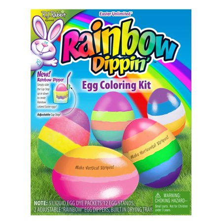 Easter Unlimited Rainbow Eggs Supply Deco 20pc 9