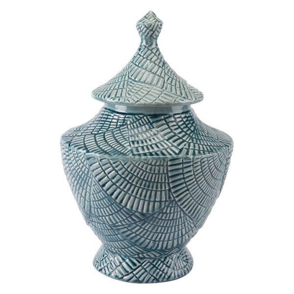 Escalera Large Covered Jar Mint