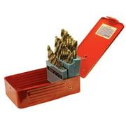Performance Tool W9017 29pc Drill Bit Set w/Steel Case