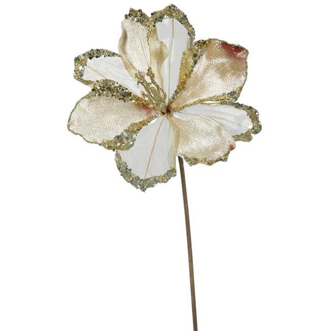 Vickerman OF161238 Champagne Amaryllis Flower Stem, 20 & 9 in. - image 1 de 1