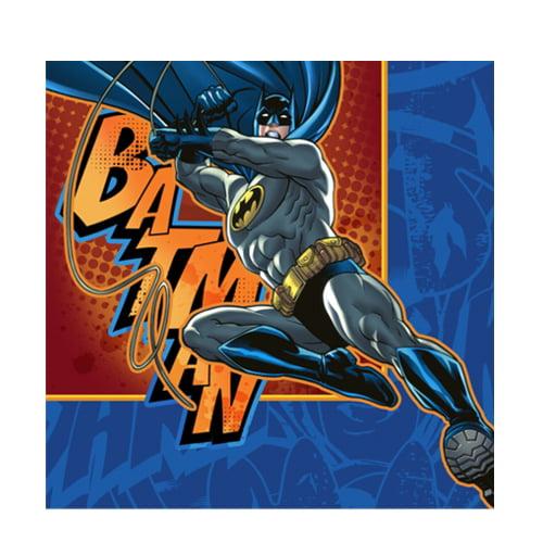 Batman 'Heroes and Villains' Small Napkins (16ct)