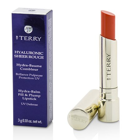 By Terry - Hyaluronic Sheer Rouge Hydra Balm Fill & Plump Lipstick (UV Defense) - # 17 Zest Shot -3g/0.1oz