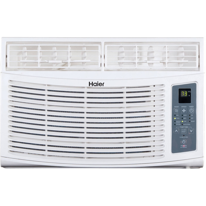 Haier 8,000 BTUs Air Conditioner, White, HWE08XCR-L