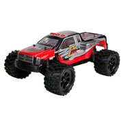 Ready! Set! Race! 2.4G 1:12 Brushless RC Terminator Remote Control Racing Truck - Red