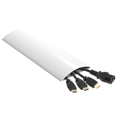 - AVF ZA180W-A Unimax Low Profile Cable Management, 6', White