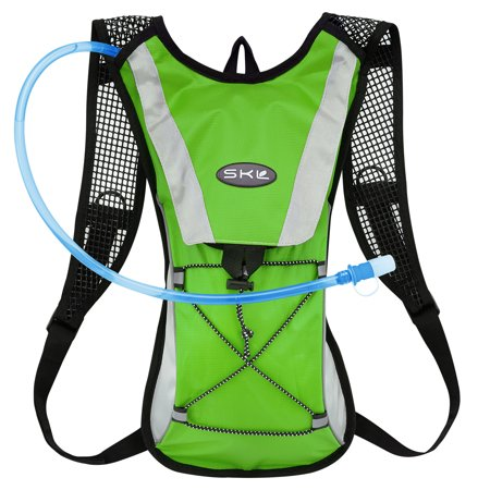 Kuyou Hydration Pack Water Rucksack Backpack Bladder Bag Cycling Bicycle Bike Hiking Climbing Pouch   2L Hydration Bladder  Green Water Pouch