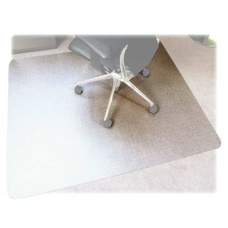 floortex cleartex ultimat chair mat for plush pile carpets 48 x 53