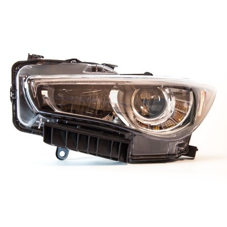 TYC 20-9506-00-1 Left Headlight Assembly for 2014-2015 Infiniti Q50 IN2502157