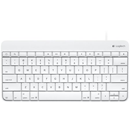 Logitech Wired Keyboard for iPad with 30-Pin Connector (920-006340)  (Non-Retail Packaging)