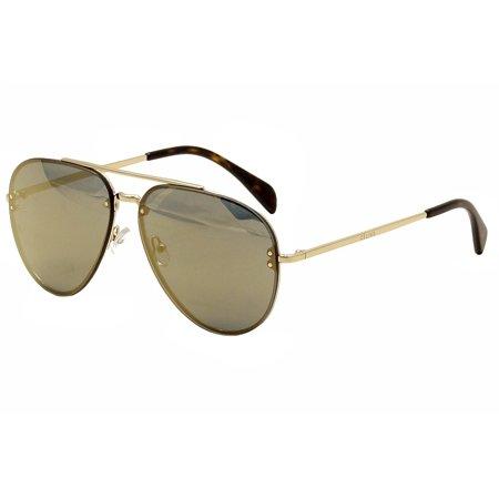 3729b8e75d4 Celine - Celine CL 41391S 41391 S J5G MV Gold Havana Pilot Sunglasses 60mm  - Walmart.com