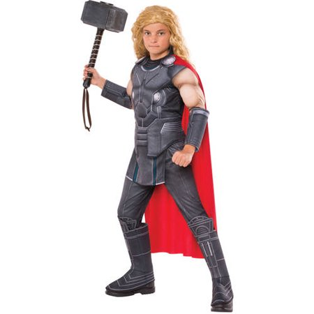 Child Muscle Chest Thor Costume - Movie Quality Thor Costume