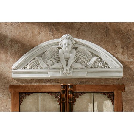 Design Toscano Cherubs Grande Welcome Sculptural Wall (Grande Cherubs)