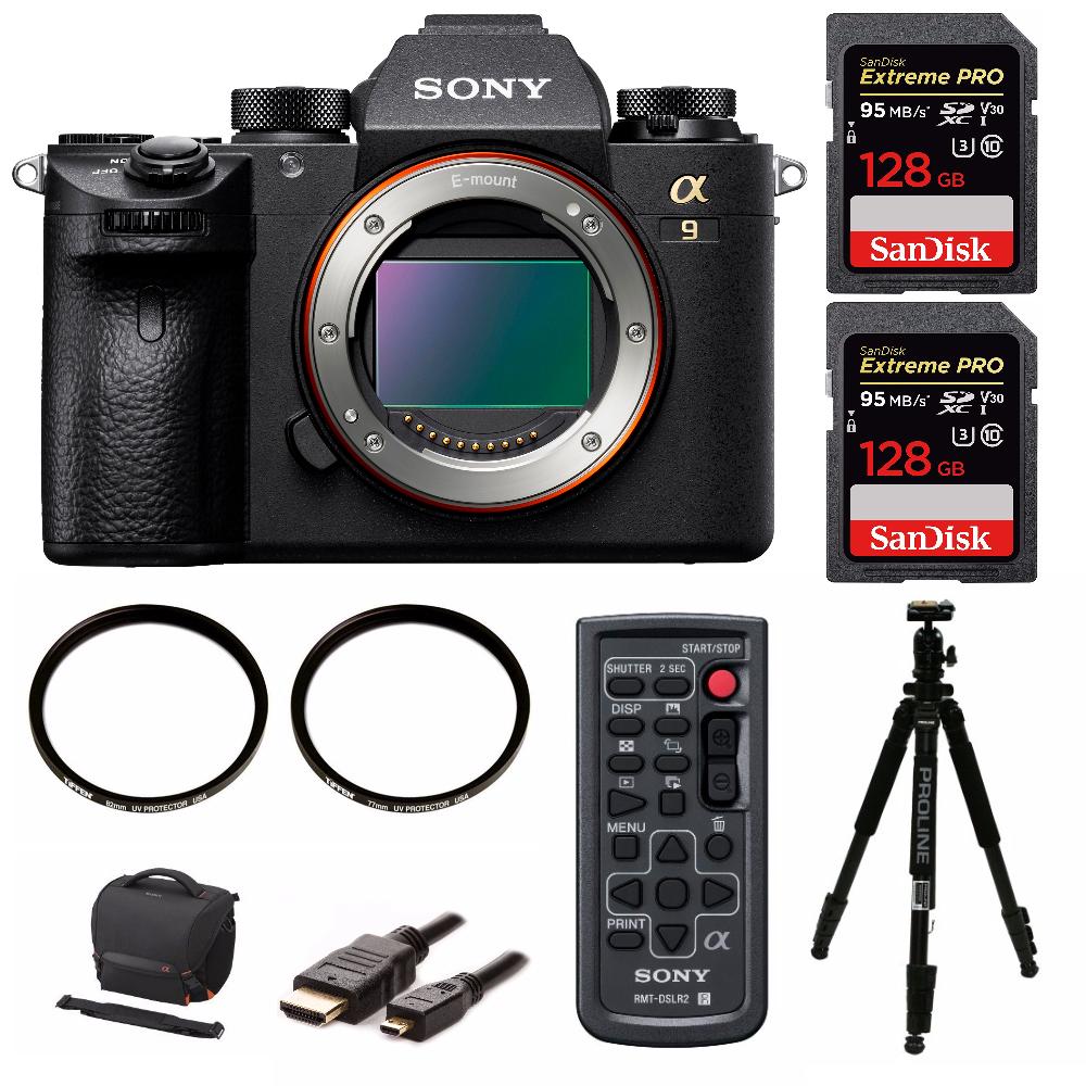 Sony a9 Full Frame Mirrorless Camera (Body) (ILCE9/B) 256GBBundle