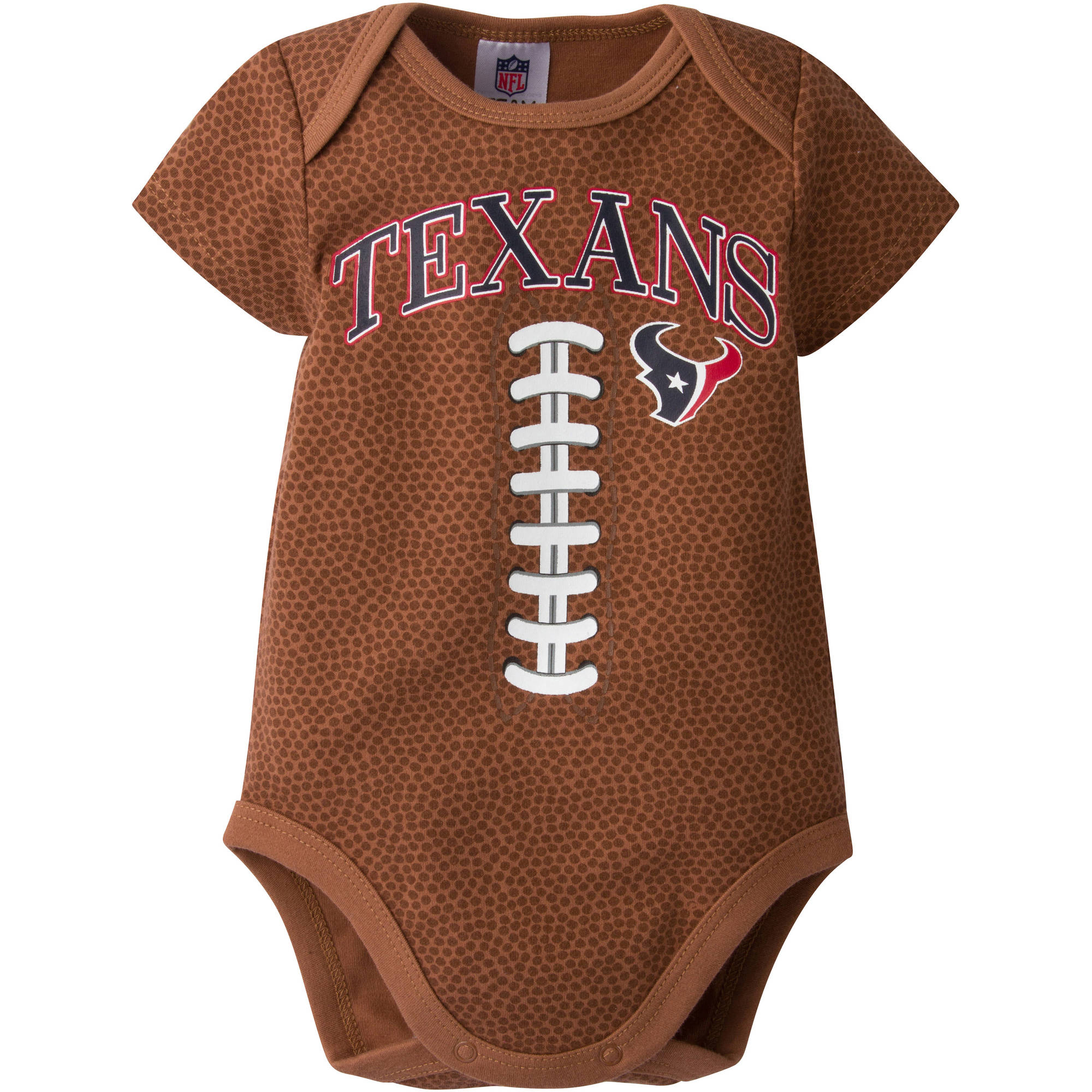 NFL Houston Texans Baby Boys Football Print Bodysuit