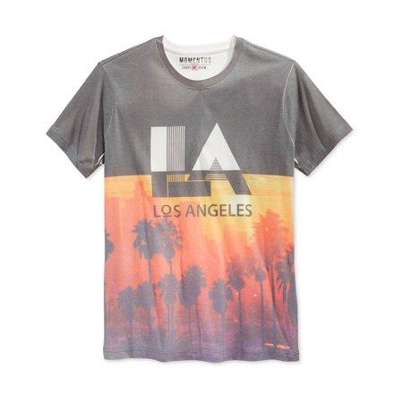 Stripper T Shirts (MomentUS Mens LA Sunset Strip Graphic)