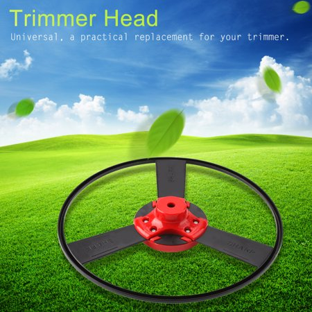 Qiilu 1Pc Stainless Steel Trimmer Head Garden Grass Brush Cutter Mower Heads Accessories, Mower Head, Mower Trimmer Head - image 8 of 8
