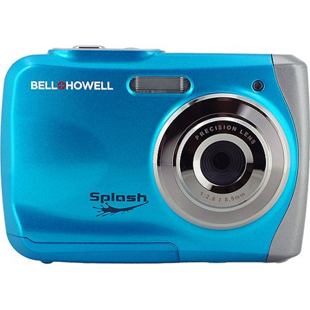 Get Best Price Selling BELL HOWELL Blue Splash 120 Megapixel Underwater Digital And Video Camera You Can Buy Reviews Check On Web