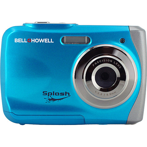 BELL HOWELL Blue Splash 12.0 Megapixel Underwater Digital and Video Camera