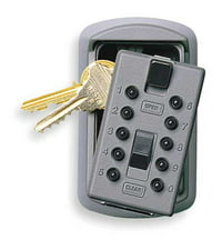 Lock Box,Surface Mount,2 Keys