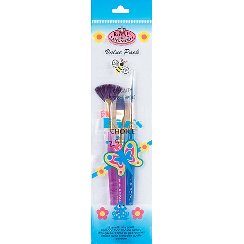 Big Kids Choice Specialty Brush Set, 3-Pack