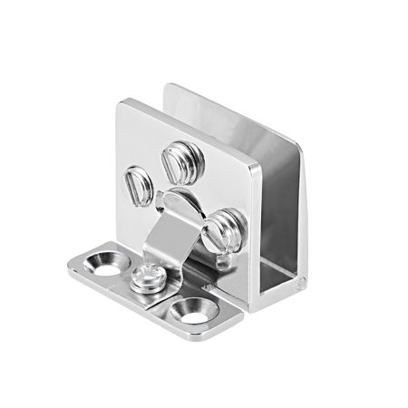 Uxcell Glass Door Hinge Adjustable Clamp for 5-8mm Glass Thickness - image 4 of 4